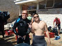 Croatia Diving: Happy qualified divers
