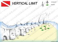 Croatia Divers - Dive Site Map of Vertical Limit
