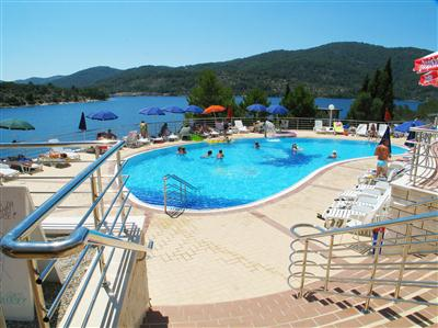 Croatia Diving: Hotel Adria Pool & Seaview