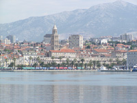 Croatia Diving: Split town view from the ferry
