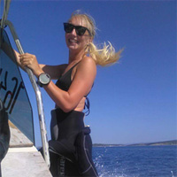 Croatia Diving: Amanda passed her PADI IE