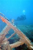 Croatia Diving: Wreck Korcula