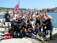 Croatia Divers: Team 2007